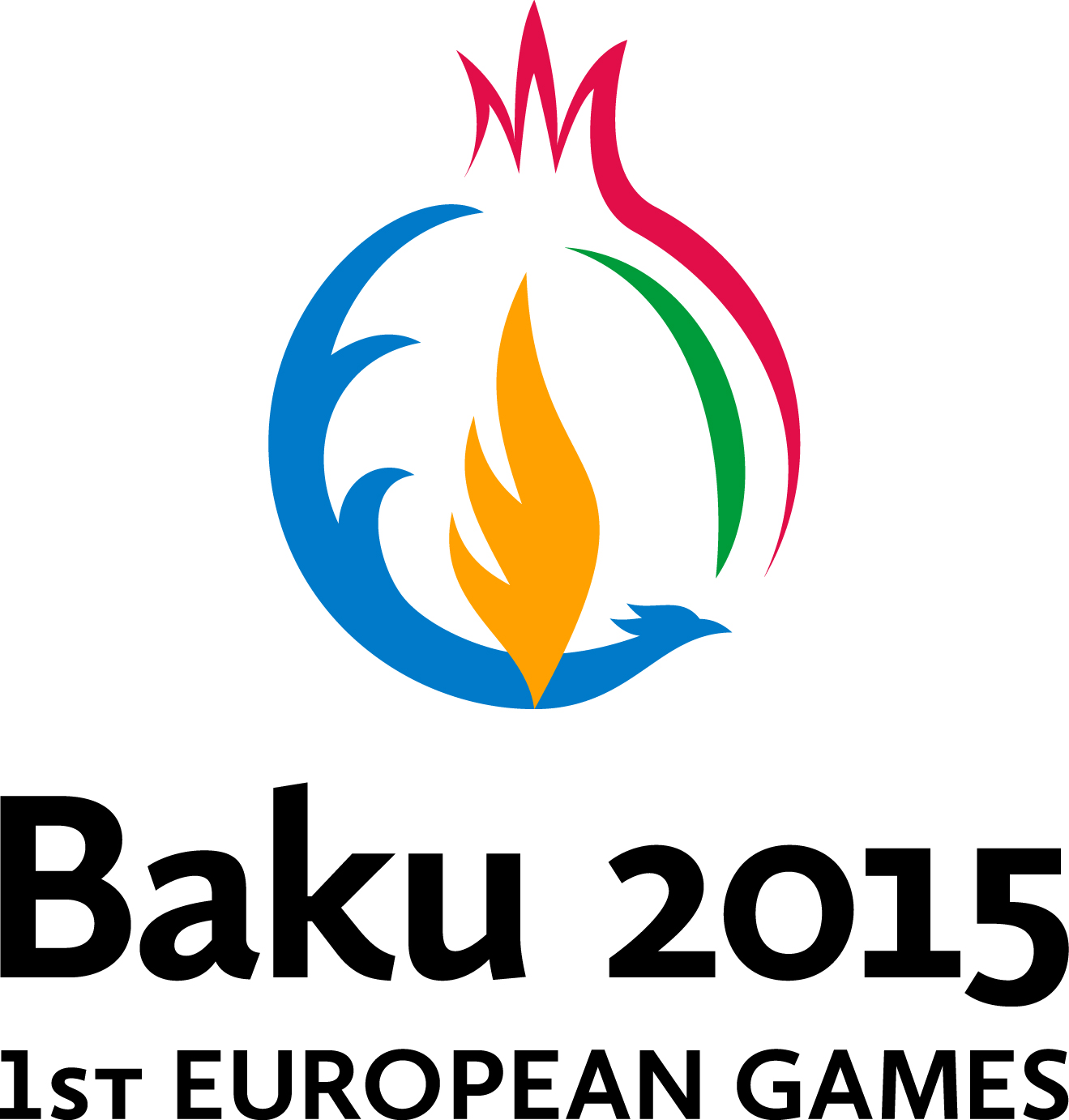 Baku 2015 Lockup RGB Colour