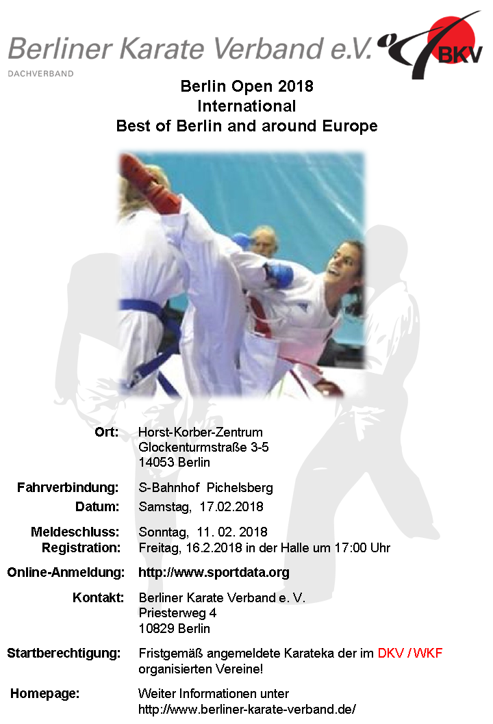 plakat berlin open 2018